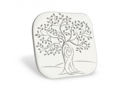 Qudretto con sacra famiglia e albero della vita stilizzati for Albero della vita da stampare e colorare